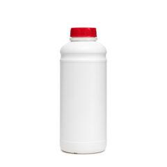 Butelka 1000 ml biała fi 42 Butelka 1 litr HDPE Butelki plastikowe